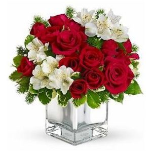 christmas bloom bouquet